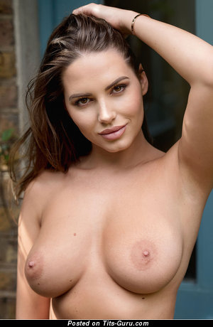 Sabine Jemeljanova - naked nice female with medium natural tittes photo