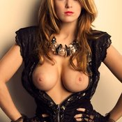 Leanna Decker - amazing woman with big natural tittes image