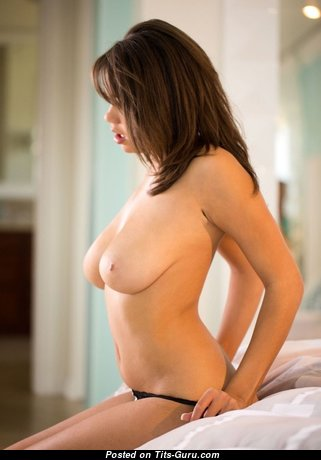 Dazzling Babe with Dazzling Defenseless Natural Mid Size Breasts & Red Nipples (Hd Sexual Pic)