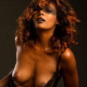 Amazing woman with medium natural tittys image