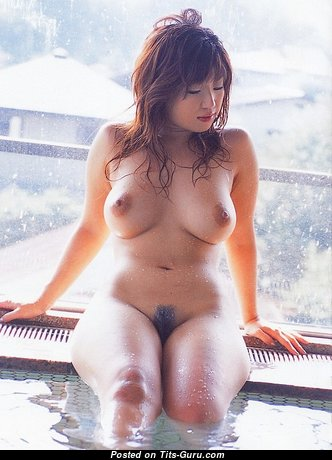 Hatsuki Naho - Lovely Topless Asian Brunette Actress & Pornstar with Lovely Nude Natural Firm Jugs & Long Nipples (Xxx Pix)