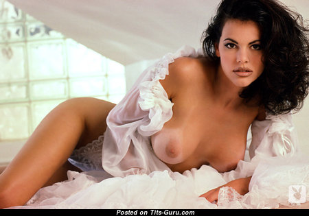 Alesha Oreskovich - Good-Looking American Playboy Brunette with Good-Looking Defenseless Medium Sized Tots (Xxx Wallpaper)