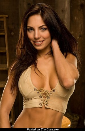 Image. Adrianna Meehan - nude brunette with big tittys image
