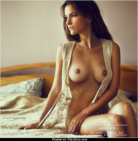 Image. Nude wonderful woman with medium natural tits image