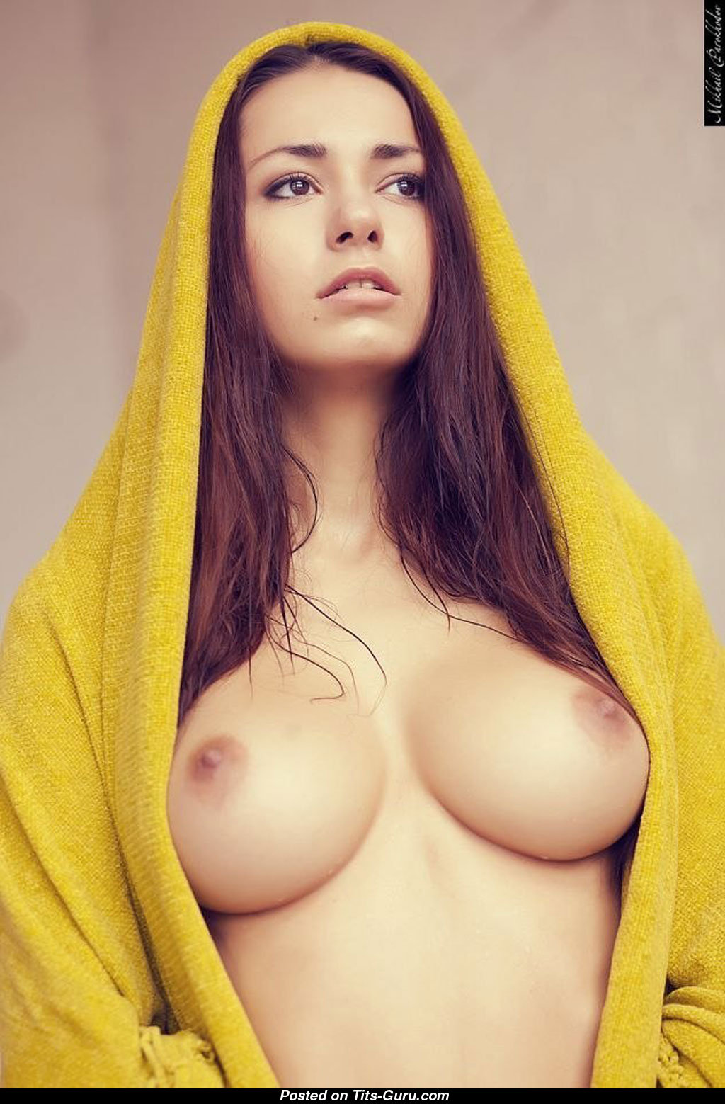 Lady With Sexy Boobs