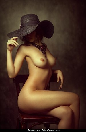 Image. Hot woman with medium natural boobs image