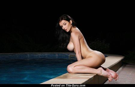 Image. Eugene, Diordiychuk - naked brunette with big boobs photo