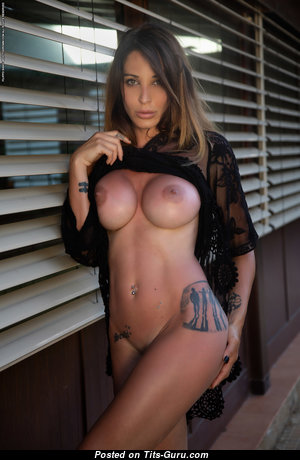 Cyrelle From Photodromm - Hot Topless Woman with Hot Open Silicone Boobys (Hd Xxx Photo)