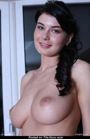 Lucy L - Exquisite Topless Czech Red Hair with Exquisite Naked Natural Regular Breasts & Weird Nipples (Hd Sexual Image)