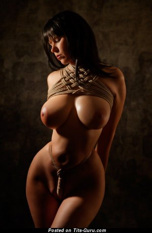 Image. Nude hot female with huge breast photo