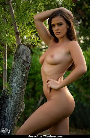 Brooke Wright - Hot Babe with Hot Nude Real D Size Breasts (Hd Porn Pic)
