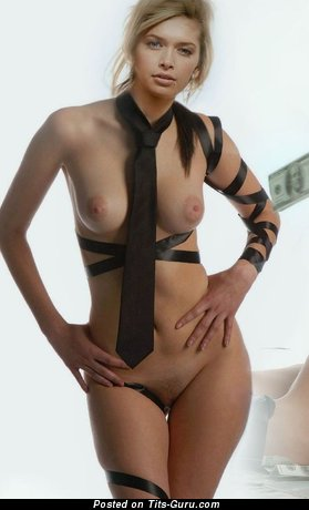 Image. Nice female with natural breast photo