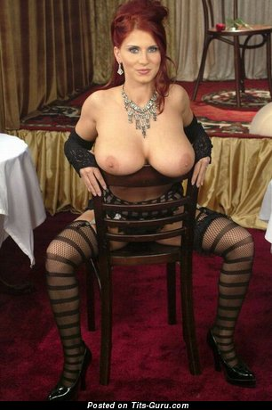 Bettie Ballhaus - nude red hair with big natural tits photo
