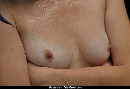Image. Nude amazing lady with small natural tittes pic