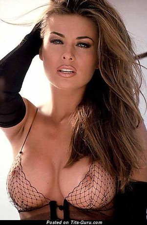 Carmen Electra - Wonderful American Brunette Actress & Babe with Wonderful Bald Round Fake Normal Hooters (Hd Xxx Foto)