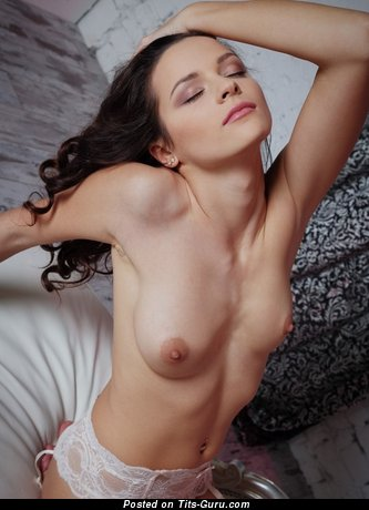 Image. Hot female with medium natural breast photo