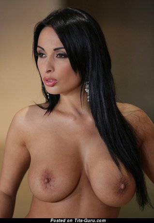 Anissa Kate - Lovely Algerian, French Brunette Pornstar with Lovely Open Real Medium Tits & Puffy Nipples (Hd Sexual Image)