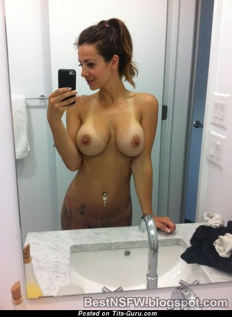 Nude beautiful woman with big tits photo
