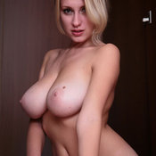 Awesome lady with big natural tittes picture