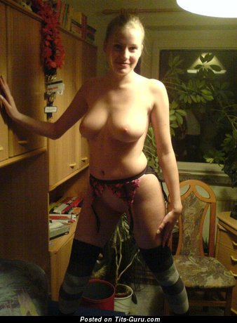 Image. Topless amateur wonderful lady photo