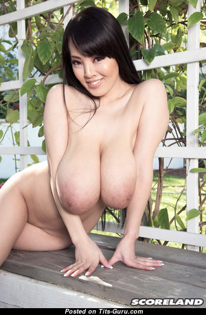Hitomi Tanaka - The Best Topless Japanese Brunette Pornstar with The Best Nude Natural K Size Chest & Large Nipples (Hd Sex Image)