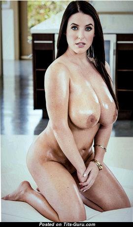 Angela White - Elegant Australian Brunette Pornstar & Babe with Elegant Nude Real Knockers (Hd Xxx Pix)