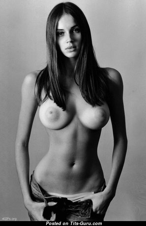 Splendid Undressed Brunette (Hd Sexual Wallpaper)