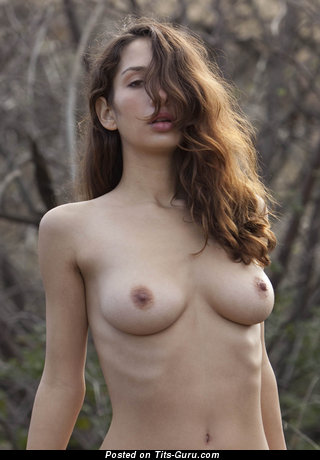 Yummy Brunette with Yummy Bare Real Little Boob (Hd Sexual Picture)