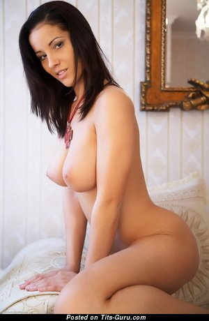 Image. Angel Dark - nude beautiful girl with medium natural tits photo
