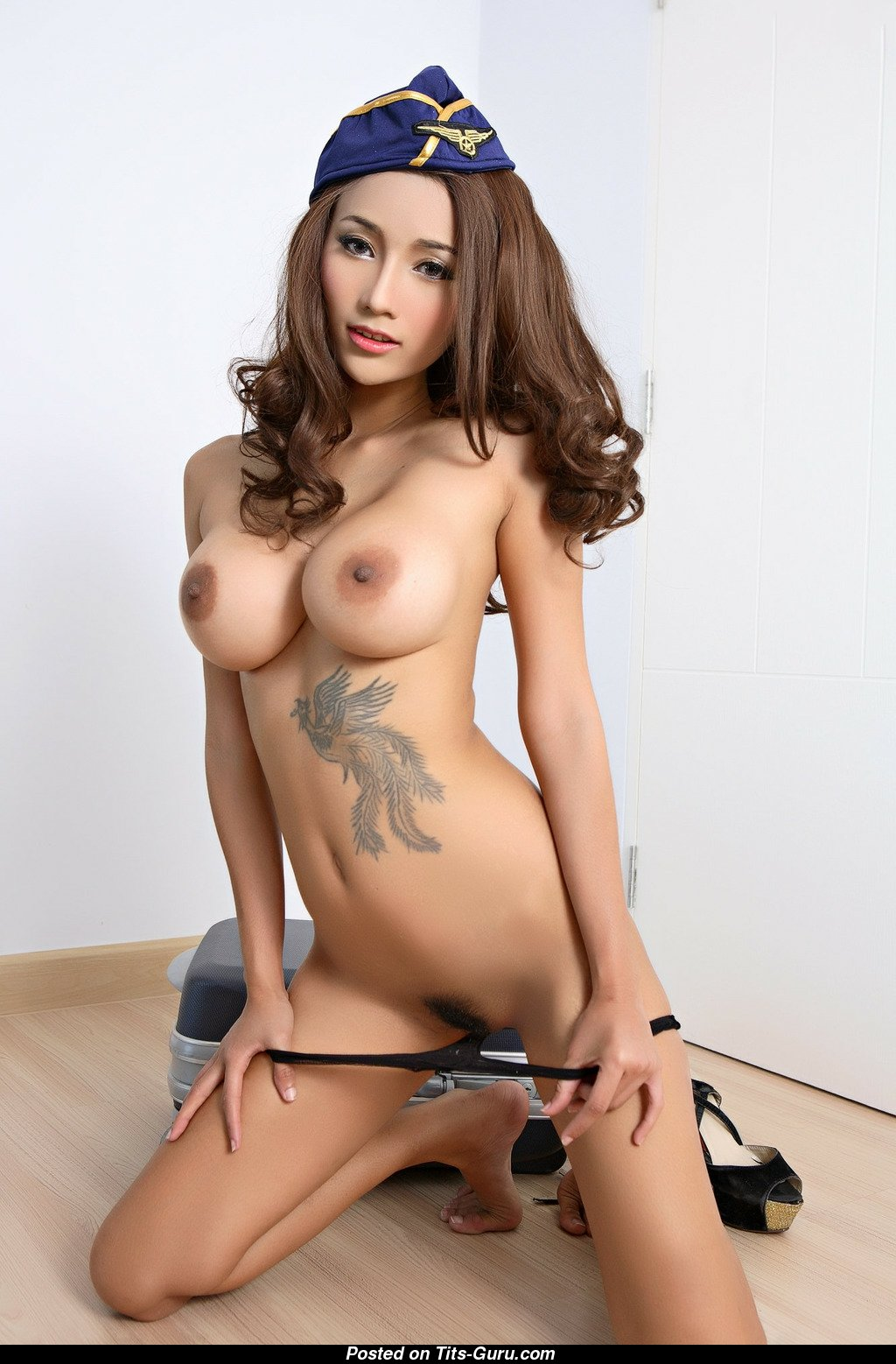 Ramita - Asian Girl With Exposed Real H Size Chest, Giant -1623