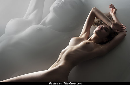 Image. Naked beautiful woman with medium tits image