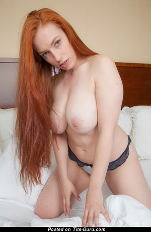 Image. Titania - nude red hair with big boobs photo