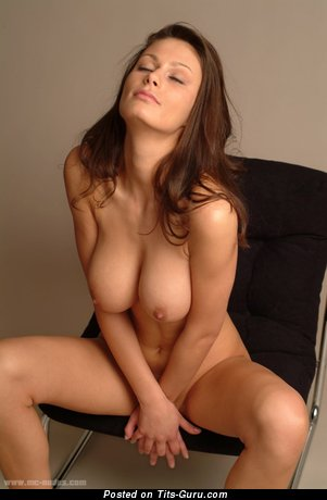 Image. Tina - naked beautiful female with medium natural boobs picture