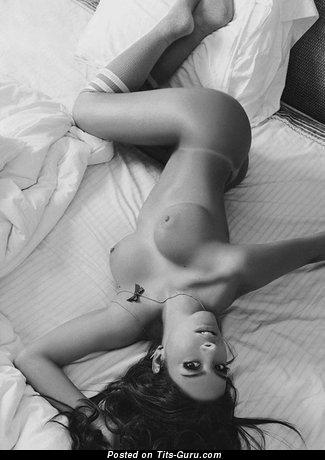 Image. Naked wonderful lady with medium breast photo