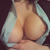 Hot girl with big tittes photo