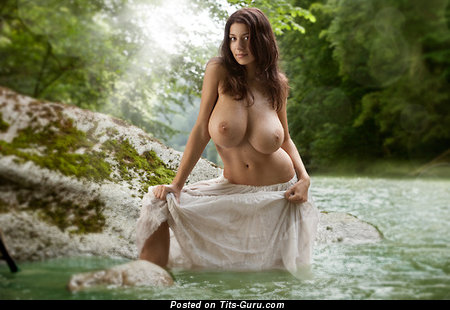 Handsome Woman with Handsome Nude Real Ultimate Tittes (Xxx Foto)
