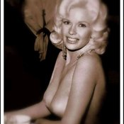 Jayne Mansfield - blonde with natural tittes vintage