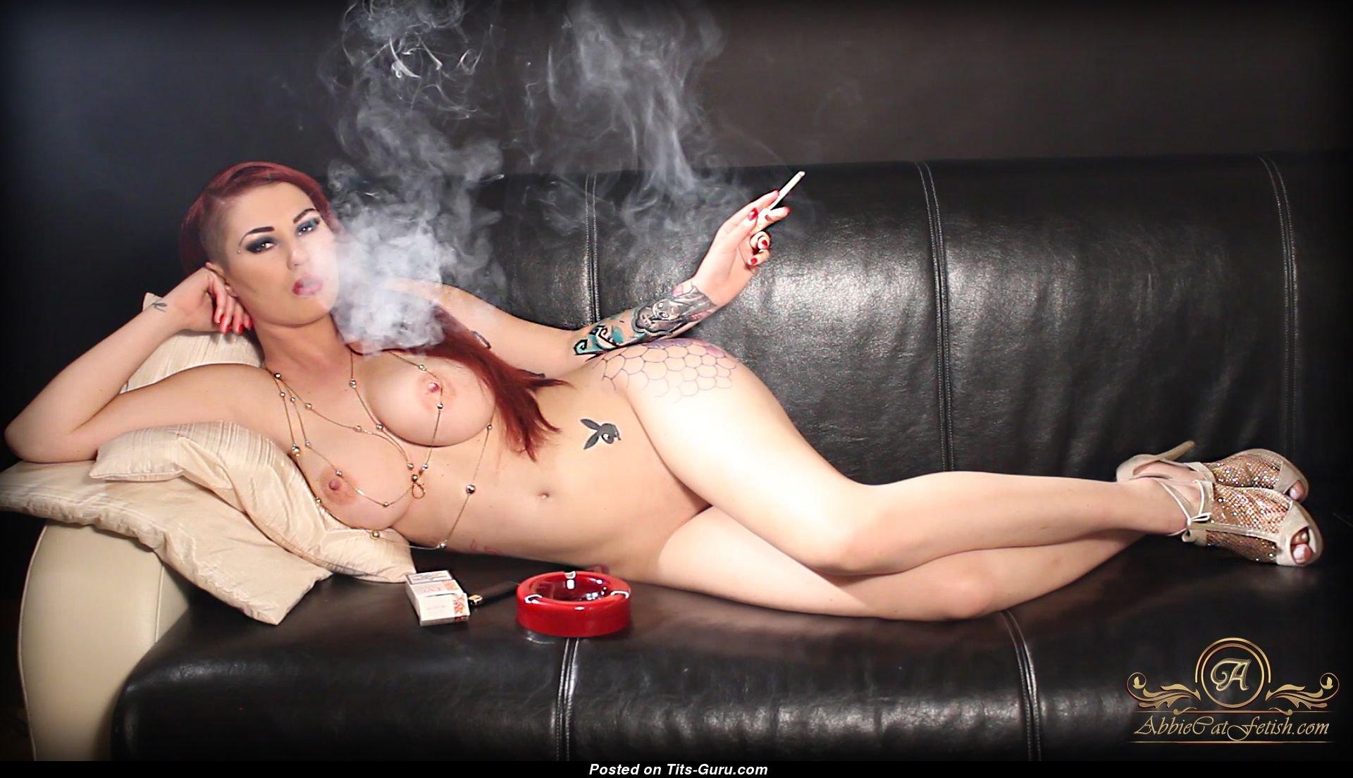 Nude girl smoking weed porn