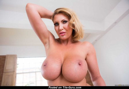 Gorgeous Playboy Lady with Gorgeous Exposed Silicone Very Big Jugs (Hd 18+ Photoshoot)