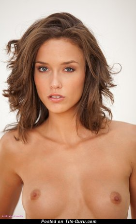 Image. Malena Morgan - beautiful girl with medium natural tots picture