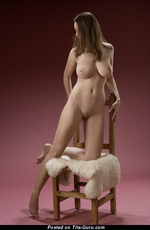 Image. Ashley - naked brunette with big natural tittys picture