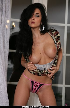 Image. Jenya D - nude brunette with natural boobies pic