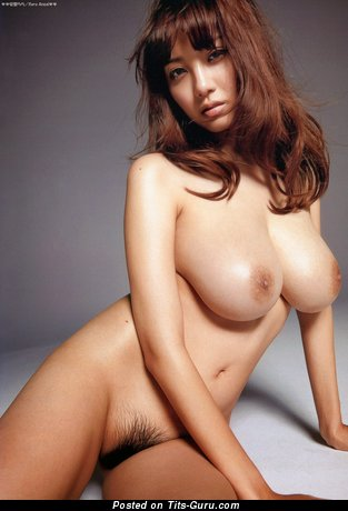 Image. Shion Utsunomiya - sexy naked asian brunette with medium natural tots picture