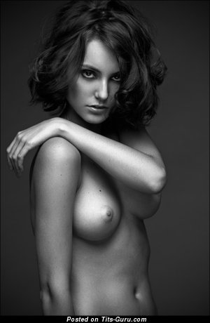 Image. Beautiful lady with natural tittys photo