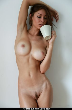 Image. Naked awesome female with big natural breast picture