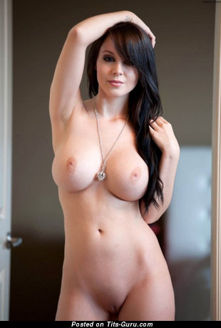 Image. Sexy naked brunette with big tittys pic