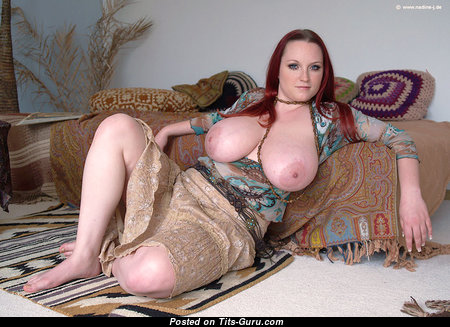 Sunny Wagner - Alluring Topless German Red Hair Babe with Alluring Naked Natural Boobys (Hd Xxx Pic)