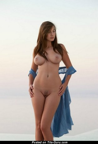 Image. Nude hot female with big natural tittes photo