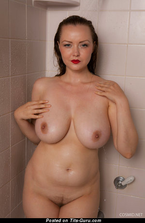 Image. Natasha Dedov - sexy naked brunette with medium natural breast picture