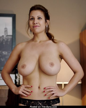 Alexandra Horvath - Graceful Brunette with Graceful Bald Real Normal Boobie (Xxx Pic)